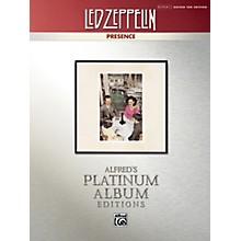 Alfred Led Zeppelin - Presence Platinum Guitar TAB Book