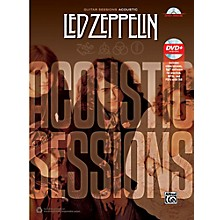 Alfred Led Zeppelin: Acoustic Sessions - Guitar TAB Songbook & DVD