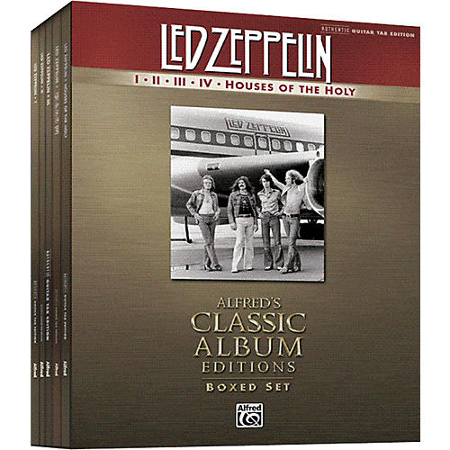 Alfred Led Zeppelin Box Set I-V Guitar Tab Songbook Collection