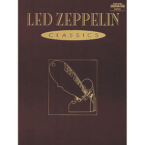 Alfred Led Zeppelin Classics Guitar Tab Book