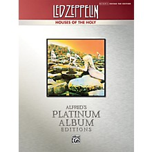 Alfred Led Zeppelin Houses Of The Holy Guitar Tab Platinum Edition Book