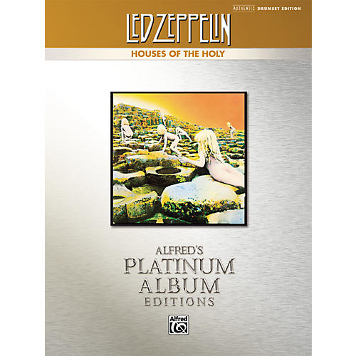 Alfred Led Zeppelin Houses of the Holy Authentic Drumset Edition (Book)