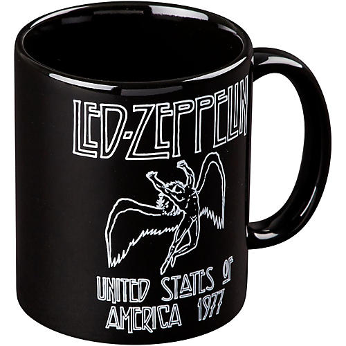 ROCK OFF Led Zepplelin 77 USA Tour Mug