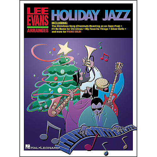 Hal Leonard Lee Evans Arranges Holiday Jazz Intermediate Piano Solo