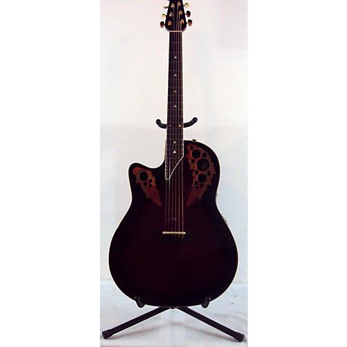 Ovation Left-Handed L778AX Elite Acoustic Electric Guitar