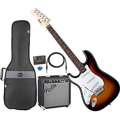 fender left handed stratocaster electric guitar pack guitar center. Black Bedroom Furniture Sets. Home Design Ideas
