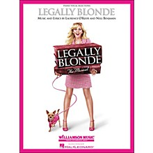 Hal Leonard Legally Blonde Piano/Vocal Selections arranged for piano, vocal, and guitar (P/V/G)