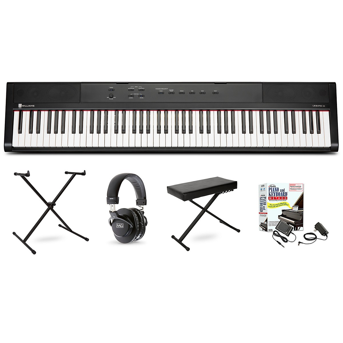 Williams Legato III Keyboard Package