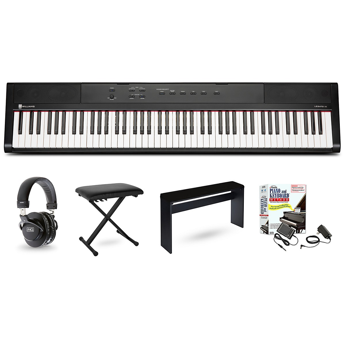 Williams Legato III Keyboard Package