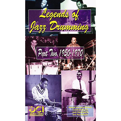Alfred Legends of Jazz Drumming, Part 2 1950-1970 Video