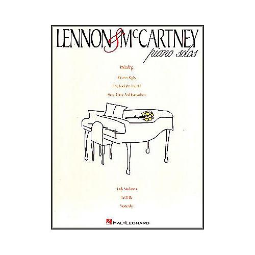 Hal Leonard Lennon & McCartney Piano Solos