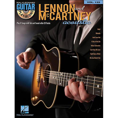 Hal Leonard Lennon & Mccartney Acoustic - Guitar Play-Along Volume 123 (Book/CD)