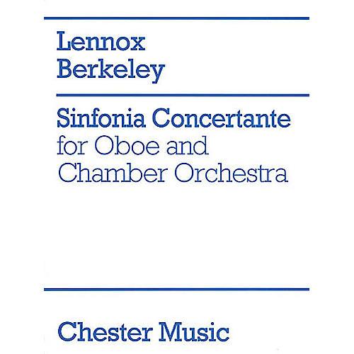 Music Sales Lennox Berkeley: Sinfonia Concertante Op.84 (Oboe/Piano) Music Sales America Series