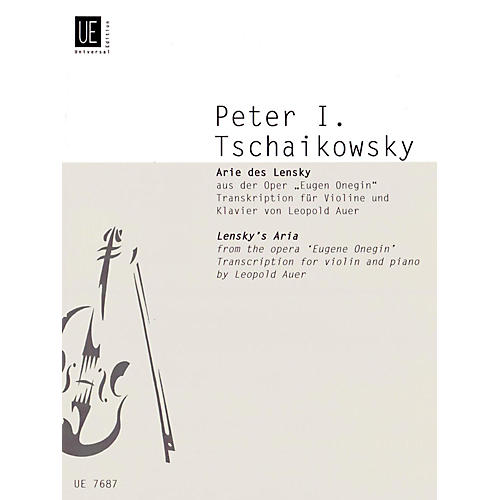 Carl Fischer Lensky's Aria (Book + Sheet Music)