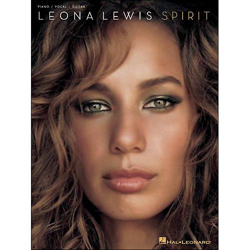 Hal Leonard Leona Lewis Spirit arranged for piano, vocal, and guitar (P/V/G)