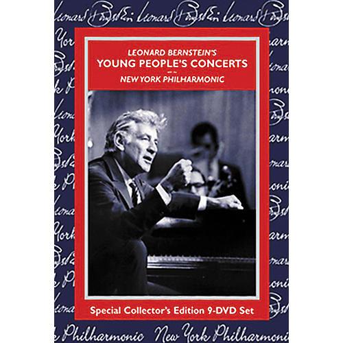 Kultur Leonard Bernstein's Young People's Concert 9-DVD Set