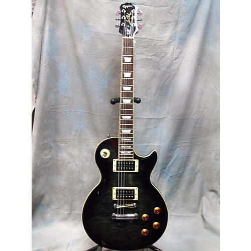 Epiphone Les Paul Classic Trans Charcoal Solid Body Electric Guitar