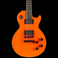 Gibson Custom Les Paul Custom Chambered Blackout Electric Guitar F1 Orange