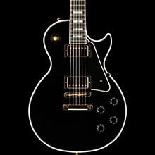 Gibson Custom Les Paul Custom Limited Run - Solid Body Electric Guitar Ebony 5-ply Black Pickguard