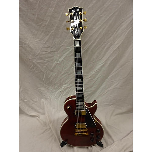 used gibson les paul custom solid body electric guitar wine red guitar center. Black Bedroom Furniture Sets. Home Design Ideas