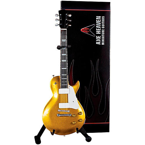 Axe Heaven Les Paul Goldtop Miniature Guitar Replica Collectible