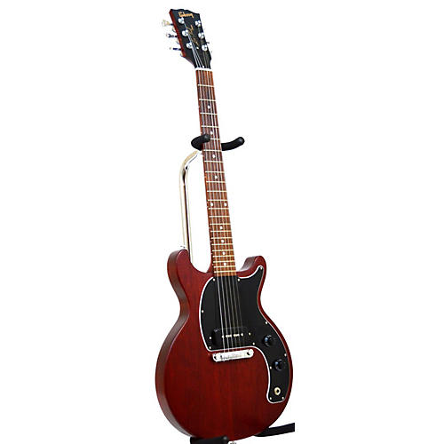 used gibson les paul junior solid body electric guitar worn cherry guitar center. Black Bedroom Furniture Sets. Home Design Ideas