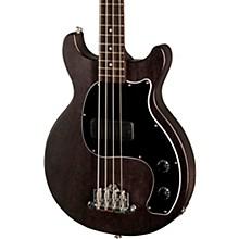 Les Paul Junior Tribute DC Bass Worn Ebony