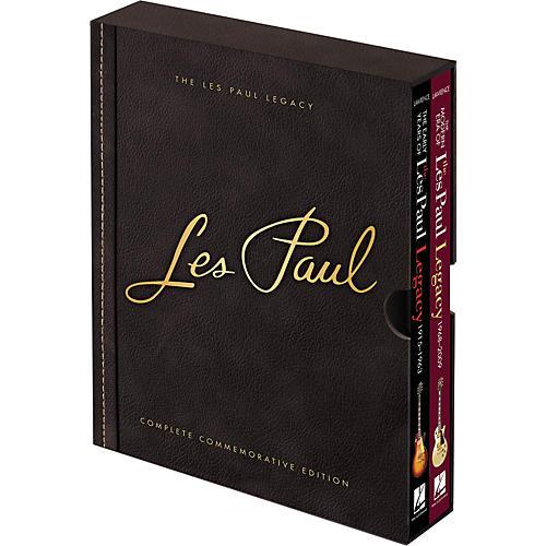 Hal Leonard Les Paul Legacy Complete Commemorative Edition Boxed Set