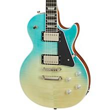 Les Paul Modern Figured Electric Guitar Caribbean Blue Fade