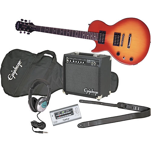 Epiphone Les Paul Special II Left-Handed Electric Guitar and All Access Amp Pack