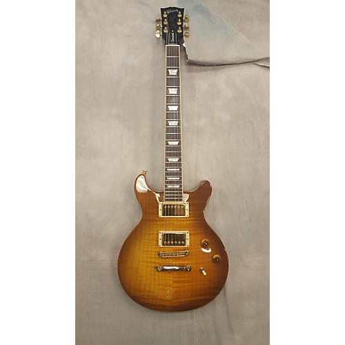 Gibson Les Paul Standard DC Flame Top Solid Body Electric Guitar