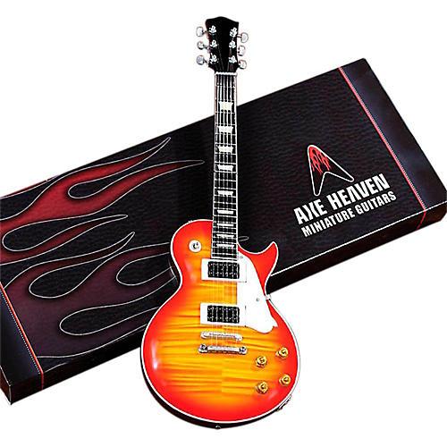 Axe Heaven Les Paul Sunburst Miniature Guitar Replica Collectible