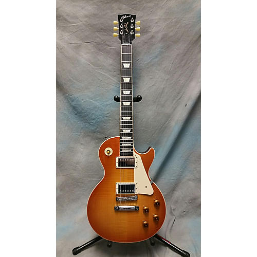 Gibson Les Paul Traditional Light Burst Solid Body Electric Guitar