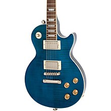 Les Paul Tribute Plus Electric Guitar Level 2 Midnight Sapphire 190839448521