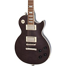 Les Paul Tribute Plus Electric Guitar Midnight Ebony