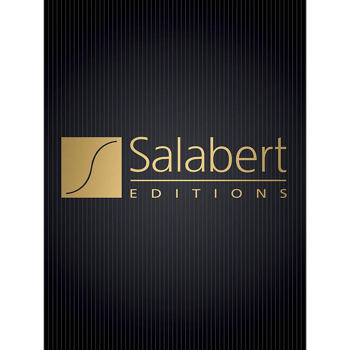 Salabert Les Tisserands Unac Fr No8 From Chansons Francaises SATBB Composed by Francis Poulenc