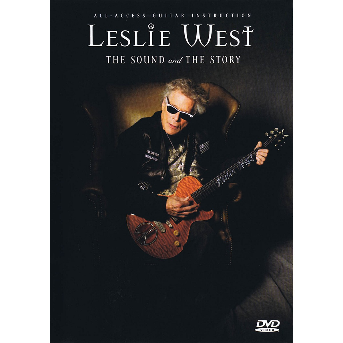 Fret12 Leslie West: The Sound And The Story - Guitar Instruction / Documentary Dvd (pal Ed.) Instructional/Guitar/DVD DVD by Leslie West