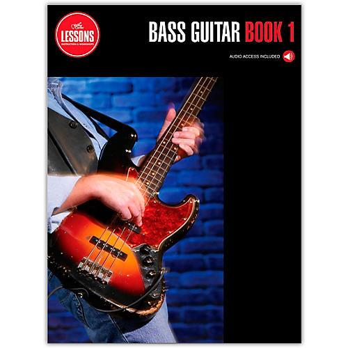 Guitar Center Lessons Bass Guitar Curriculum Book 1 (Book/Online Audio)