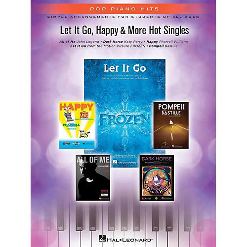 Hal Leonard Let It Go, Happy & More Hot Singles for Piano