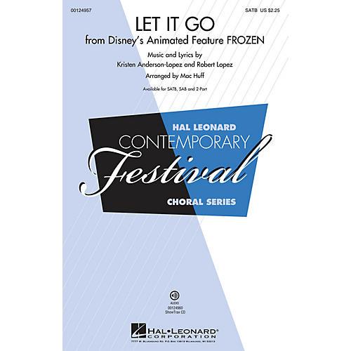 Hal Leonard Let It Go (from Frozen) (from Frozen) SSA Arranged by Mac Huff