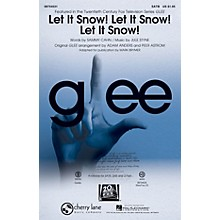 Cherry Lane Let It Snow! Let It Snow! Let It Snow! SAB by Glee Cast Arranged by Adam Anders