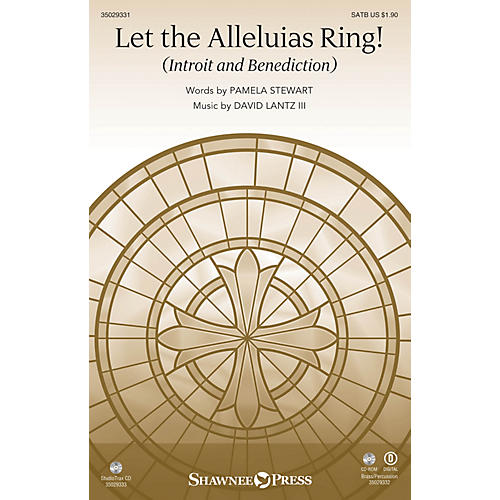 Shawnee Press Let the Alleluias Ring! (Introit and Benediction  StudioTrax CD) Studiotrax CD Composed by Pamela Stewart