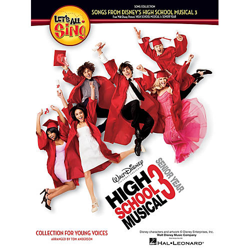 Hal Leonard Let's All Sing Songs from Disney's High School Musical 3 Performance/Accompaniment CD by Tom Anderson