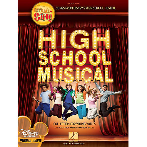 Hal Leonard Let's All Sing Songs from Disney's High School Musical Performance/Accompaniment CD by John Higgins