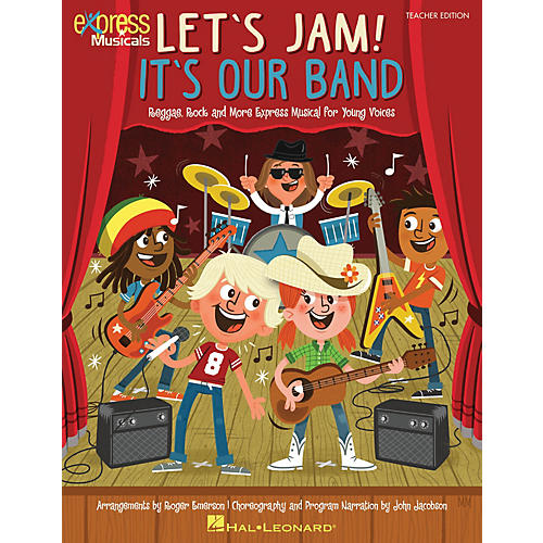 Hal Leonard Let's Jam! It's Our Band singer 20 pak Composed by Roger Emerson