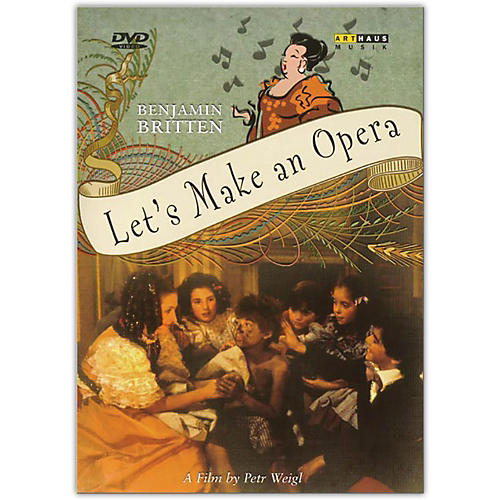 Alfred Let's Make an Opera DVD