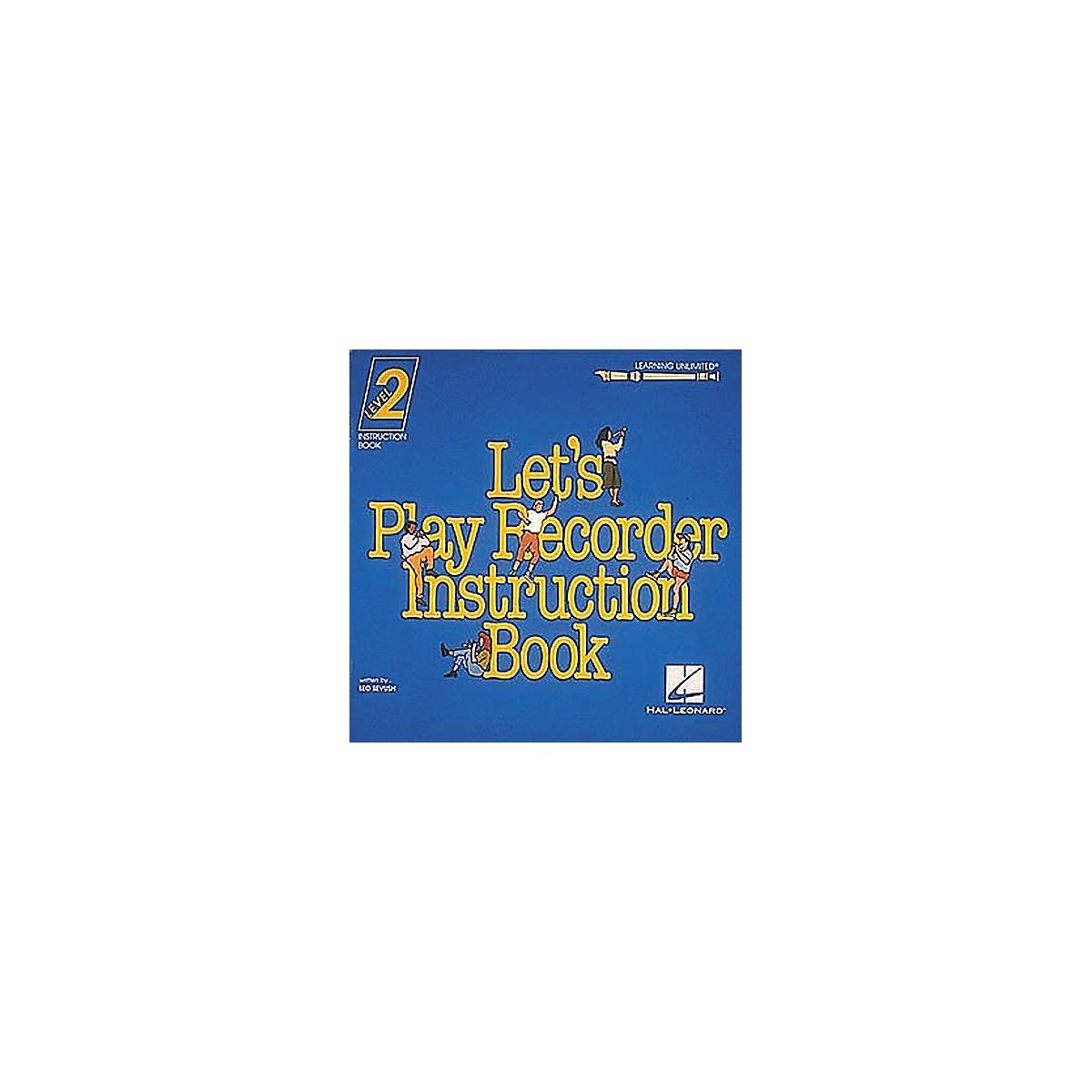 Hal Leonard Let's Play Recorder - Level 2