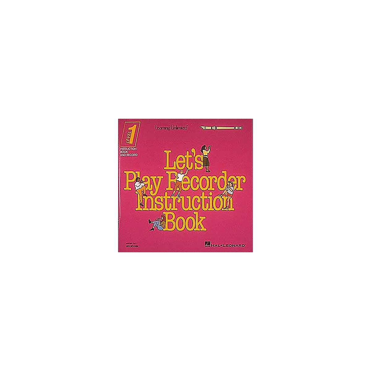 Hal Leonard Let's Play Recorder Instruction Book - Level 1