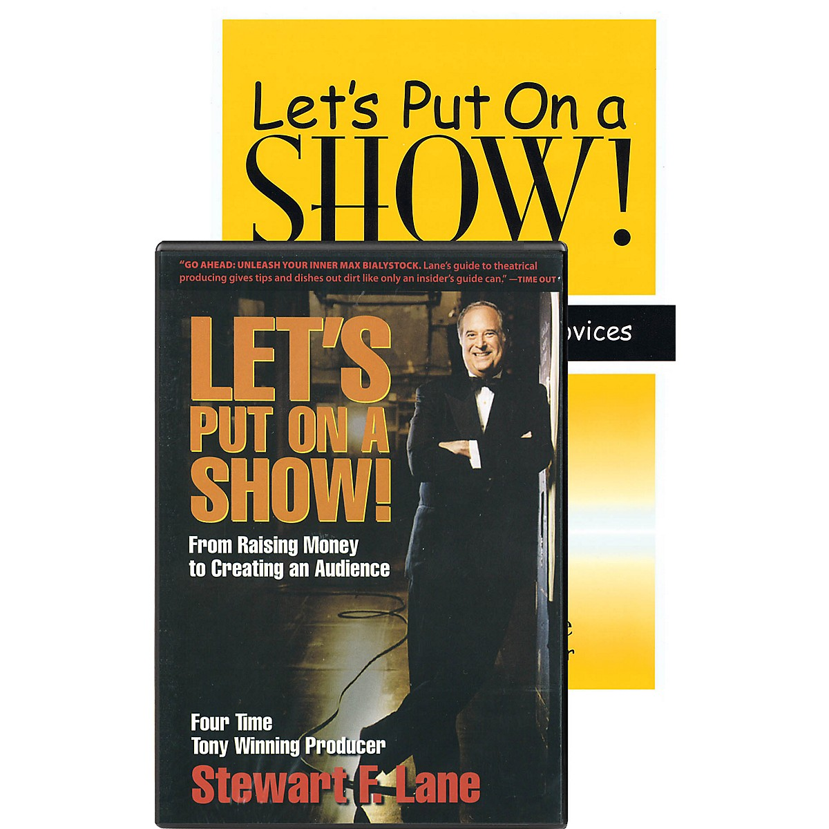 Heinemann Drama Let's Put on a Show! Applause Books Series Softcover with DVD-ROM Written by Stewart F. Lane