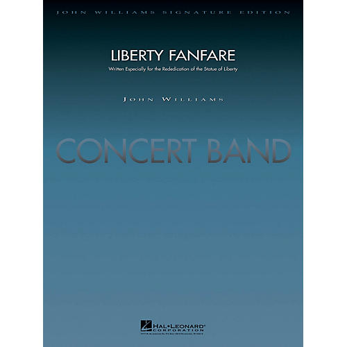 Hal Leonard Liberty Fanfare (Score and Parts) Concert Band Level 5 Arranged by Jay Bocook